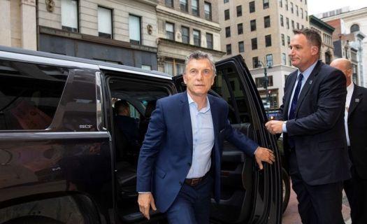 Mauricio Macri in New York Foto Clarin