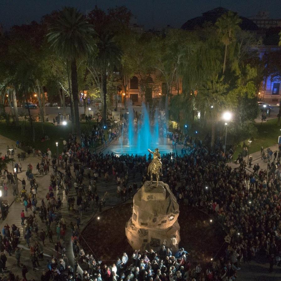 Plaza San Martin Mendoza Argentina Renovacion Urbana Invest in