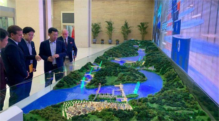 Mendoza en China Three Gorges Corporation