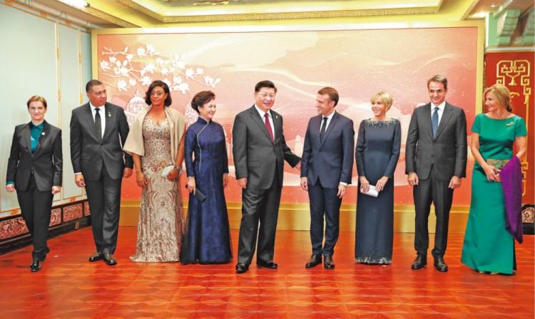 President Xi Jinping en la feria CIAL