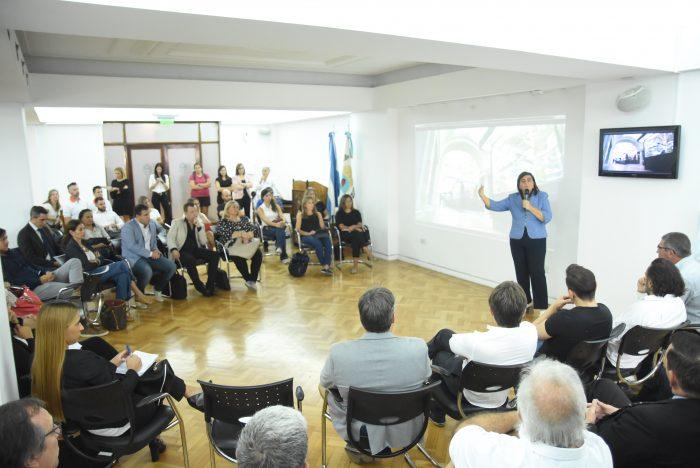 Mariana Juri en Mesa de grandes eventos para Mendoza