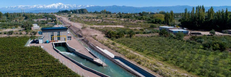 Central hidroelectrica en Mendoza